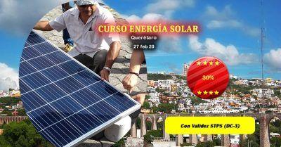 Curso de energia solar en Queretaro
